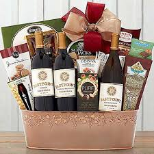 hobson estate trio valentines day gift baskets in usa