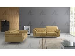 italian leather sofa set. Wonderful Set Yellow Italian Leather Sofa Set With I