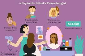 cosmetologist job description salary