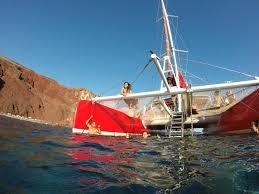 Dream Catcher Boat Santorini dreamcatcher santorinisailingneshecaptain 17