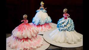 Cupcakes Barbie Design How To Make Barbie Cupcakes Cake Decorating