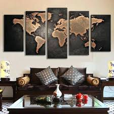 >world map wall art canvas bed bath mercators world map canvas wall  world map wall art canvas mercators world map canvas wall art