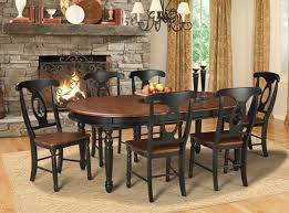 Dining Room Table Black British Isles Dining Set Woodstock Furniture Mattress Outlet