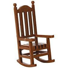 wooden rocking chairs. Wonderful Rocking Amazoncom Darice 9190562 Timeless Miniatures Wood Rocking Chair Arts  Crafts U0026 Sewing To Wooden Chairs
