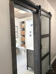 frosted glass barn doors. If You Decide To Purchase The Iron-Aged Grey 3-Lite Frosted Glass Barn Door And Want Stain Surrounding Wood Match Now Have Secret Formula! Doors L