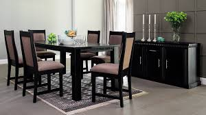 dining room furniture. renoir 8pce dining room sui black wood dining room furniture e