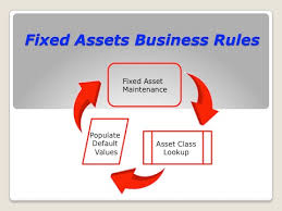depreciation of fixed asset fixed assets data entry business rules