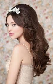 Peinados Para Novia Con El Pelo Suelto Gigi Remond Maquillaje