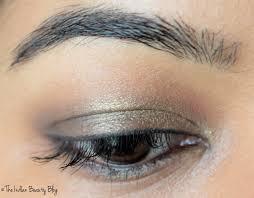 gold brown smokey eyes