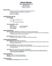 Resume Create A Professional Resume Online Free Satisfying Create
