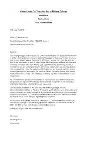Cover Letter Cover Letter Teacher Position Cover Letter Teacher