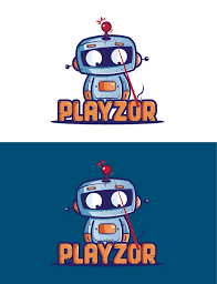 Robot Logo Design Logo Design By Silverfox Design I Like How This Has A Cute