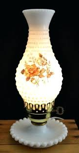 vintage milk glass lamps vintage glass lamp base vintage hobnail milk glass table lamp