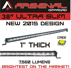 20in Cree Led Light Bar Single Row Best 38 Inch Led Light Bar Reviews 2020 Lightbarreport Com