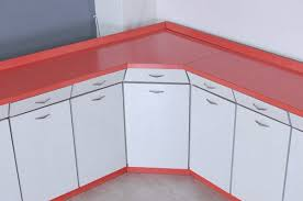 vintage white and c formica kitchen