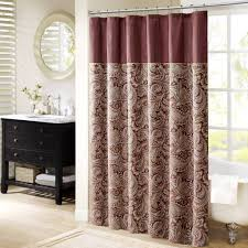 lovely black and beige shower curtain