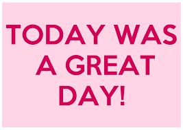 Today Was A Good Day Quotes Simple Today Was A Great Day Quote Number Picture Quotes On Awesome Good