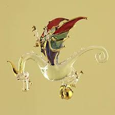 Glass Dragon Christmas Ornaments : Egyptian Ornaments