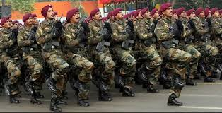 Image result for Indian forces on toes at forward bases