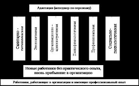 Дипломная работа Управление адаптацией персонала на предприятии  Подразделение по управлению адаптацией персонала