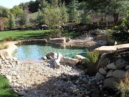 natural looking in ground pools. A Guide To Natural Swimming Pools Looking In Ground