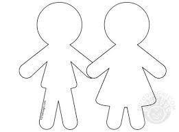 Sagome Di Bambini Da Colorare Migliori Pagine Da Colorare