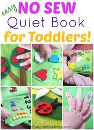 how to make a quiet book includes 11 inside pages all no sew for toddlers from powerfulmothering