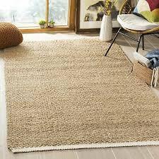 safavieh natural fiber contemporary handmade ivory natural jute rug 6 x