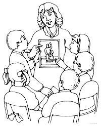 Tuyển tập tranh tô màu cô giáo và học sinh dành cho bé đẹp nhất - Chia sẻ  24h