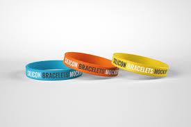 Our awesome team of designers pledge to developing superior but affordable graphics design premium wristband psd mockups. Silicone Rubber Bracelet Mockup In Product Mockups On Yellow Images Creative Store