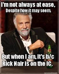 Meme Maker - I'm not always at ease, But when I am, it's b/c Rick ... via Relatably.com