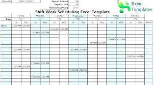 Schedule Forms Printable Free Hour Rotating Shift Schedule Template Scheduling