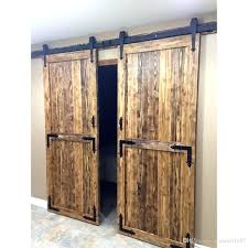 full size of inch double barn doors door with glass panels sliding magic closet track interior double door barn doors sliding