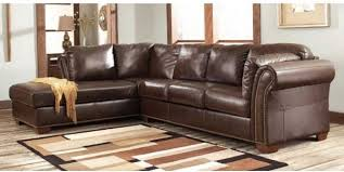 Chic Leather Sofa Sectional Brown Leather Sectional Sofa Sanblasferry