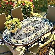 mosaic patio table and chairs tile outdoor table lovely tile patio table or mosaic patio tables mosaic patio table