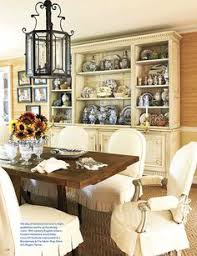 so much to love about this dining room especially those slips french decor