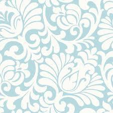 light blue wallpapers designs. Light Blue Tulip Damask Wallpaper Wall Sticker Outlet On Wallpapers Designs