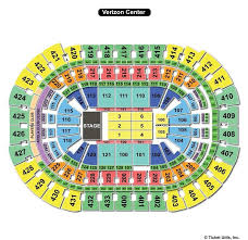 Verizon Center Washington Dc Seating Chart Capital One Arena