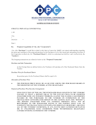 Letter Of Offer Template Business Purchase Offer Letter Templates At