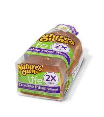 double fiber wheat bread