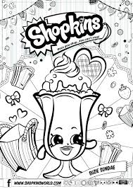 Shopkins Printable Coloring Pages Printable Coloring Pages 7 Best