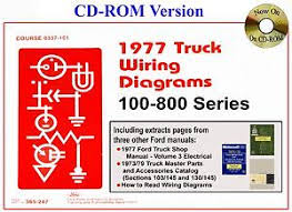 ford truck wiring diagram cd by forel publishing image is loading 1977 ford truck wiring diagram cd by forel