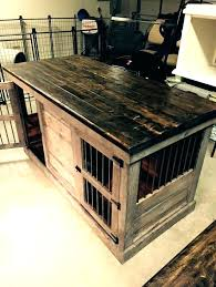 dog cage end table decorative cages free crate large size natural inside wooden crates decor coffee