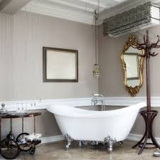 Randolph Morris 70 Inch Acrylic Double Slipper Clawfoot Tub with Imperial  Feet - No Faucet Drillings