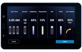Cree Lighting Raleigh Nc Cree Lighting Cadiant Touchscreen Controls Lithios Apps
