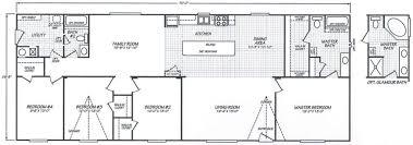 4 bedroom eagle mobile home floor plan