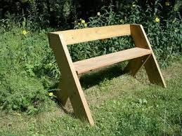 outdoor bench with back simple outdoor wood bench plans