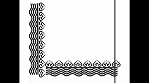 Book Side Designs Side Border Design Any Book Cover Cloth Projects Use It Part 3