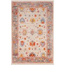 epc2305 23 2 x 3 x small transitional beige red and blue rug