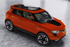 new car launches by mahindraUpcoming Mahindra SsangYong Compact SUV S102 Concept Model To Be